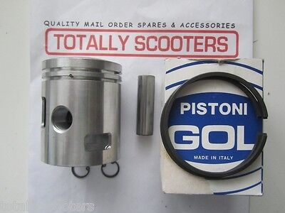 Vespa Rally 180 1St Oversize Piston Kit - Italian Made - 1 Only To Clear