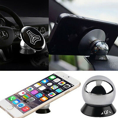 360 Car Mount Sticky Universal Magnetic Stand Holder For Cell Phone iPhone GPS F