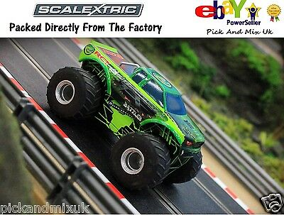 NEW IN Scalextric Team Scalextric Monster Truck.  Slot Car  C3711