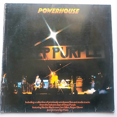 Deep Purple - Powerhouse Vinyl LP Live Compilation German 1st Press