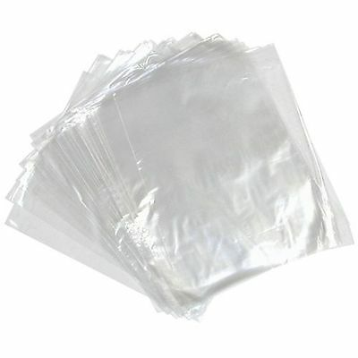 "+CLEARANCE+ 1000x 9x14"" POLYTHENE BAGS CLEAR PLASTIC BAGS TOP OPENING HEAVY DUTY"