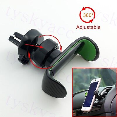 Cart Accessories 360° Adjust Bracket Air Vent Mount Phone Holder Cradle Stand