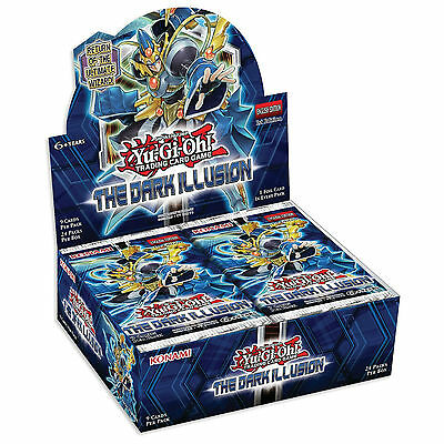 Yu-Gi-Oh Cards The Dark Illusion Factory Sealed Booster Box - 24 Packs - TDIL