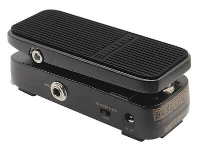Hotone Bass Press Volume Expression Wah Wah Guitar Effect Pedal - Brand New
