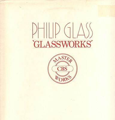 Philip Glass(Vinyl LP Gatefold)Glassworks-CBS-CBS 73640-Holland-1982-Ex-/NM-