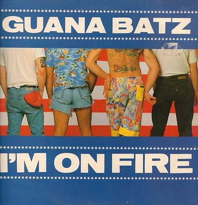 "The Guana Batz(12"" Vinyl P/S)I'm On Fire-ID-EYE T 9-UK-1986-VG/VG"