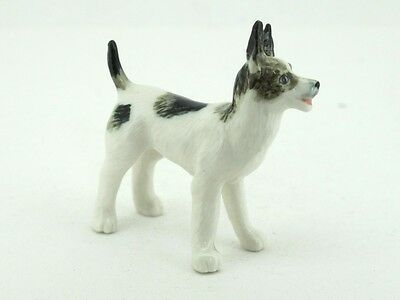 Craft Miniatures Collectible Ceramic Cute Toy Terrier Dog FIGURINE Animals