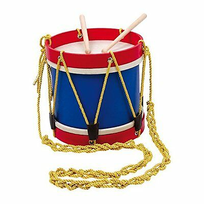 New Kids Wooden Marching Band Toy Drum Set Kit