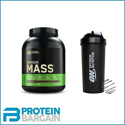 ON Optimum Nutrition Serious Mass 2.7KG Weight Gainer Gain Protein