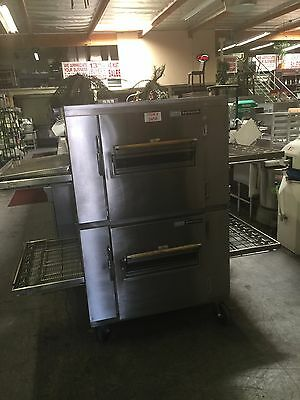 Lincoln Impinger Double Deck Pizza Conveyor Oven
