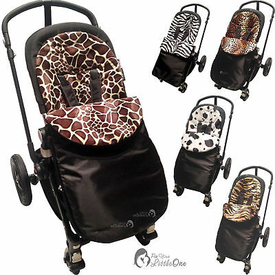 Animal Print Footmuff Compatible With Mountain Buggy Duo/duet/one/swift