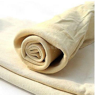 Nature Real Leather Car Washing Cleaning Towel Cloth Wipes Chamois Clean Cham