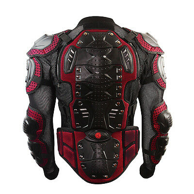 Scoyco Motocross Sportbike Protector Full Body Armor Jacket Guard Dirt Bike Gear