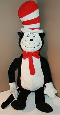 """21"""" Dr Seuss Cat in the Hat Plush Doll Stuffed Toy"""