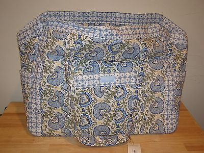 Longaberger Sisters Get Away For The Day Blue Large Bag Tote Earth Sky Duffle