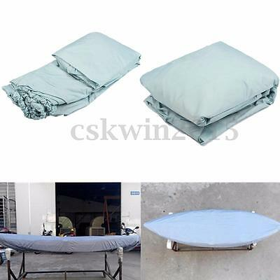 Universal UV Waterproof Kayak Boat Cover Accessory Protection For 3.8-4m Canoe