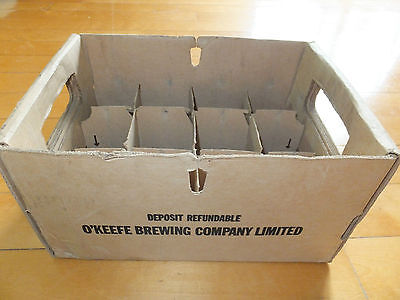 Beer Case Stubby Style Brown to store 12 x 341 ml O'KEEFE Bière Ale