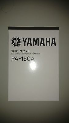 NEW Genuine original Yamaha PA-150 DC12 1.5A Adaptor for Keyboards Pianos Drums