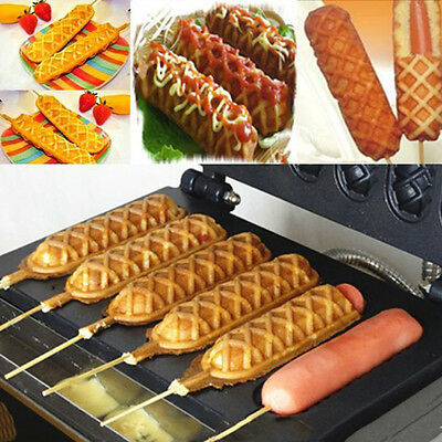 FY-119 Non-Stick Crispy Machine Specially Grid Allow Bake 6 Cakes At Same Time