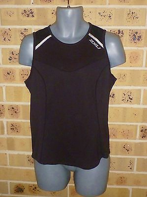 New / Shop Quality 2XU XL Boys Compression Top Black Shop Quality