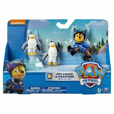 Paw Patrol Rescue Set Spy Chase and Penguins