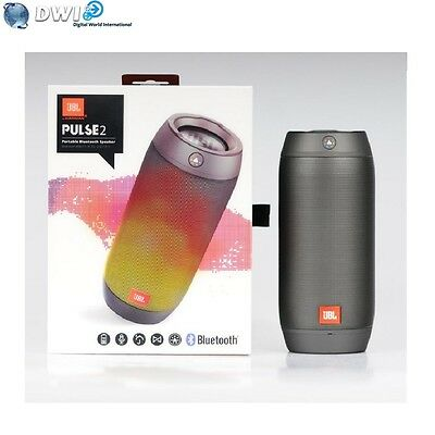 Neuf Jbl Pulse 2 Parleur Sans Fil Portable Splashproof Noir Black
