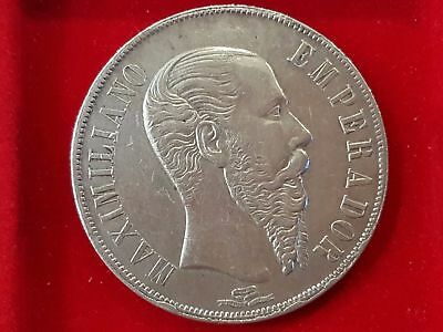 Mexico - Silver - 1 Peso - Year 1866