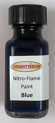 Brightvision BLUE Nitro-Flame Redline Restoration and Custom Paint - BLUE