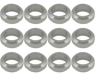 Wheel Spacer Silver 17mm x 10mm Prokart Cadet x 12 UK KART STORE