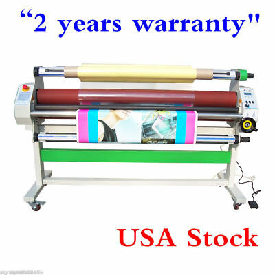 """USA Stock!  110V Economical 60"""" Full - auto Low Temp Wide Format Cold Laminator"""
