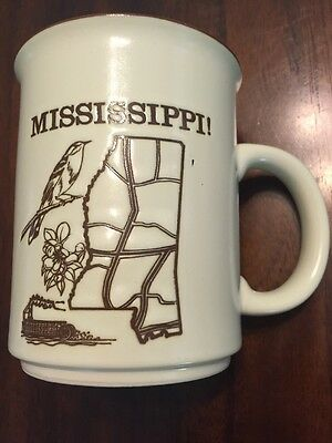 Mississippi Coffee Mug Cup Souvenir Of Mississippi