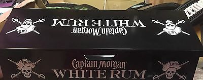 New Captain Morgan Spiced White Rum Bar Ware Deep Tray Condiment Garnish Holder