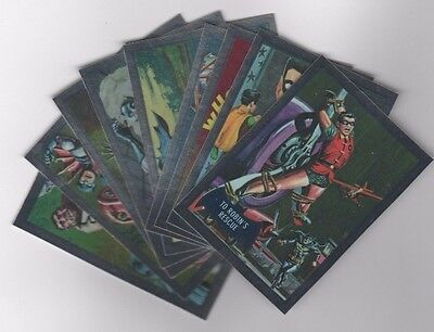 Cryptozoic DC Justice League Batman TV Show re-issue insert set DC7-1 to DC7-9