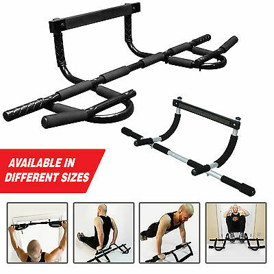 Pull Up Bar Exercise Fitness Home Gym Chin Ups Sit Ups Bar Door Workout Strength