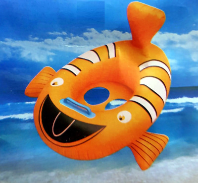 Clown fish   Kids Baby Inflatable  Swimming Pool Raft Floating Seat Boat Ring