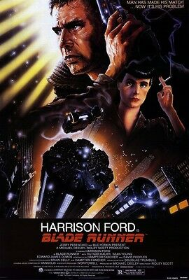 "BLADE RUNNER (1982) Movie Poster [Licensed-New-USA] 27x40"" Theater Size"