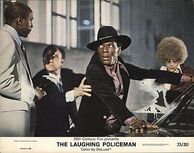 The Laughing Policeman 1973 Original Movie Poster Crime Drama Thriller