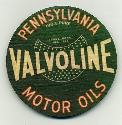 Valvoline Motor Oils COASTER - Pennsylvania  - Vintage Green Design