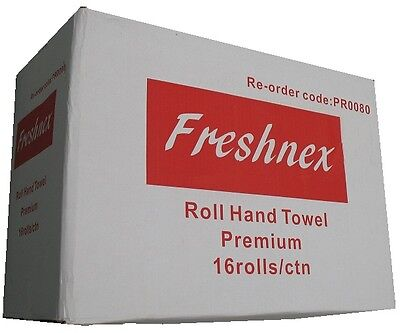 Paper Towel Rolls, 80m 16 Rolls/Carton, Commercial Paper Rolls, Quality Paper To