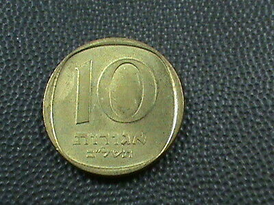 ISRAEL  10  Agorot   1972   $ 2.99 maximum shipping in USA