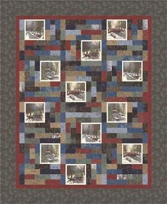 "~Moda ~ Town Square Quilt Kit by Holly Taylor~ 65"" x 79"" ~100% Cotton KIT6630"