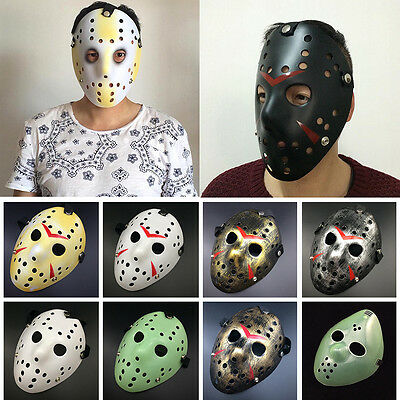 Hot Halloween Party Mask Jason Voorhees Friday The 13th Horror Movie Hockey Mask