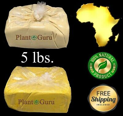 5 lbs. African Shea Butter 100% Pure Raw Organic Unrefined Bulk Wholesale 2.26kg