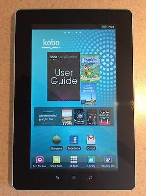 Kobo Vox E-Reader Blue With Charger (Pre-Owned But Used Only A Couple Of Times)
