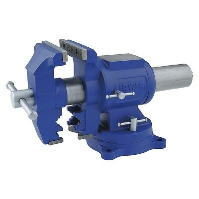 5-inch Tools Heavy Duty Workshop Vise Up to 300lbs Clamping Force Steel Handle