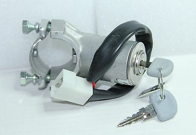 Genuine Trw Sipea Fiat 126 127 128 132 Column Ignition Switch With Steering Lock