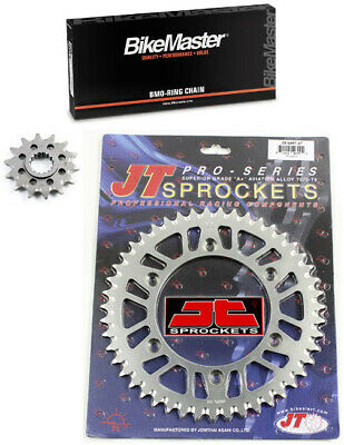 JT O-Ring Chain 14-47 Alloy Sprocket Kit for KTM 250 SX-F 2006-2012