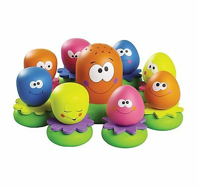 TOMY Aquafun Octopals Bath Water Toy For Baby New