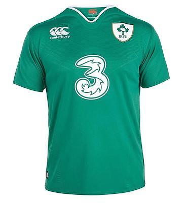 2016 Ireland Rugby Mens Home Jersey Size S-2XL