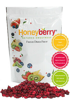 Freeze Dried Sour Cherry Slices 100g